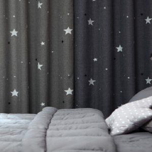 Luxdezine Blackout Curtains Star Night