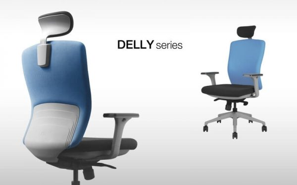Luxdezine Blue Delly Series Office Chair
