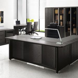 Luxdezine Executive Table Office Furniture Black 1000 Series
