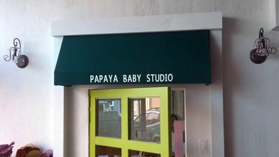 Luxdezine Fixed Awning Papaya Studio
