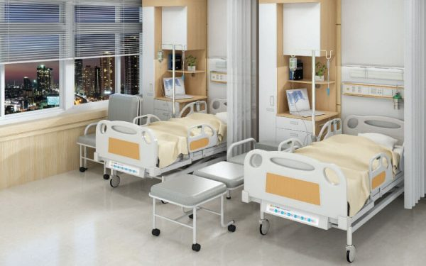 Luxdezine Hospital Bed Table Chair Furniture Fixtures
