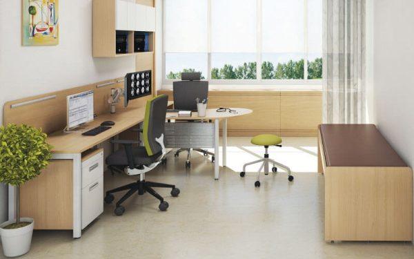 Luxdezine Hospital Work Desk Table Chair Sofa