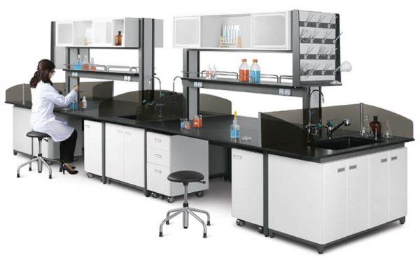 Luxdezine Laboratory Table Chair Furniture Sink