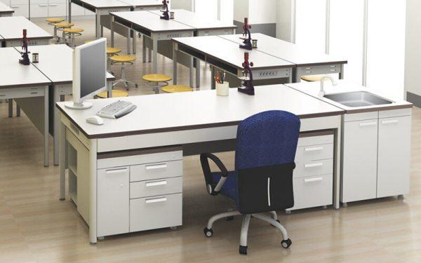 Luxdezine Laboratory Table Furniture Classroom Type Chair Sink