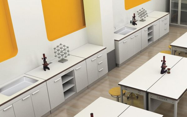 Luxdezine Laboratory Table Sink Furniture Fixture