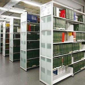 Luxdezine Library Book Tall Shelf Furniture