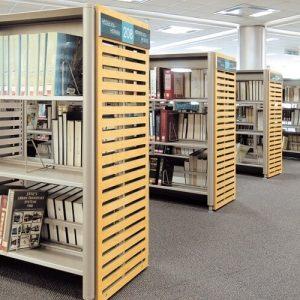 Luxdezine Library Furniture Book Shelf