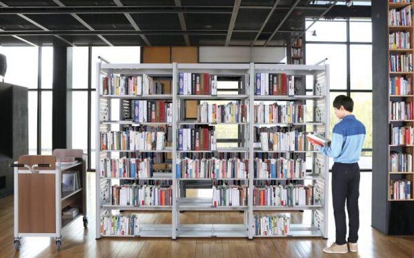Luxdezine Library Shelf Furniture