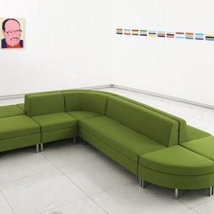 Luxdezine Long Green Sofa Black End Page 2