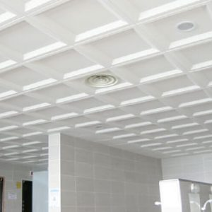 Luxdezine Metal Ceiling White SMC