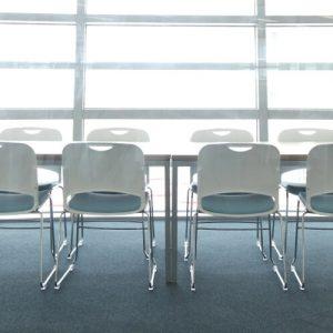 Luxdezine Multi Use Chair White Silder Legs
