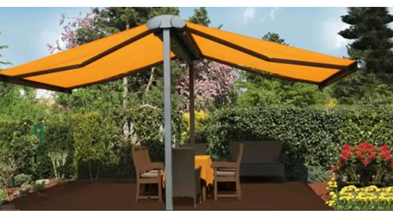 Luxdezine Plaza Awning Outdoor Lawn