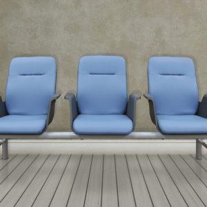 Luxdezine Public Chair 3 Violet