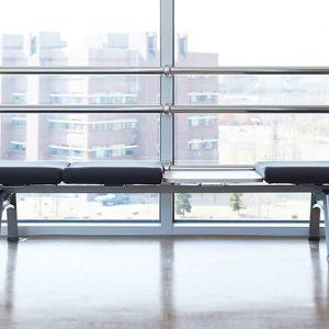 Luxdezine Public Chair Black Removable Seat