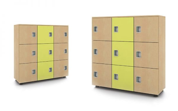 Luxdezine School Classroom Furniture Locker Multi Level