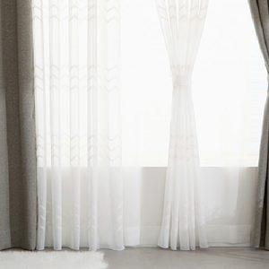 Luxdezine Sheer Curtains Kara Embroidery