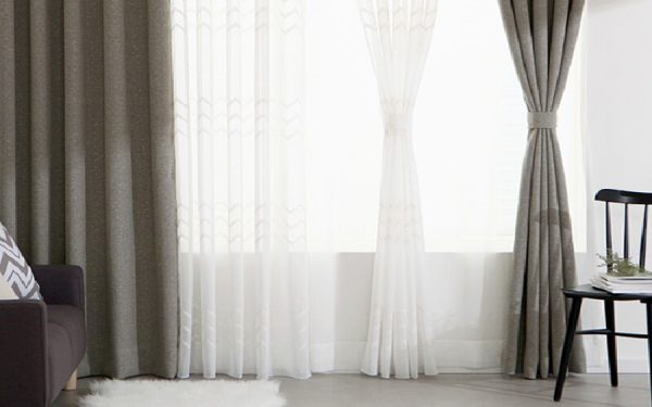 Luxdezine Sheer Curtains Kara Embroidery