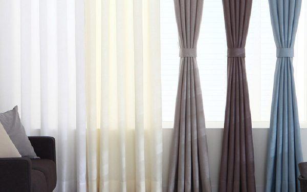 Luxdezine Sheer Curtains Nature Linen Look