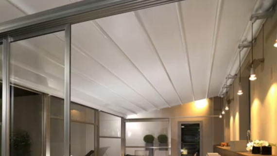 Luxdezine Sky Awning Indoor White