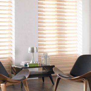 Luxdezine Window Blinds 3D Shade Privacy Center Piece