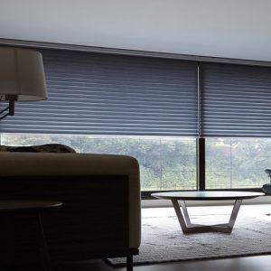 Luxdezine Window Blinds 3D Shade Privacy Half Open