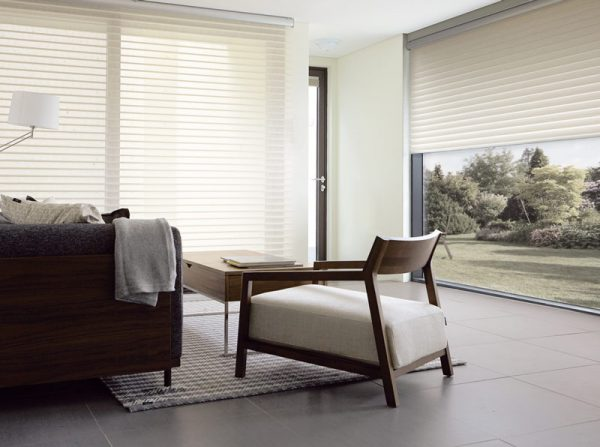 Luxdezine Window Blinds 3D Shade Privacy Wide Look