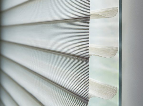 Luxdezine Window Blinds 3D Shade Privacy Zoom Size Right