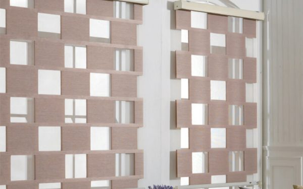 Luxdezine Window Blinds Combi Shade Cube