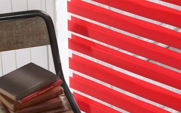 Luxdezine Window Blinds Combi Shades Interior Orange Zoom Bench