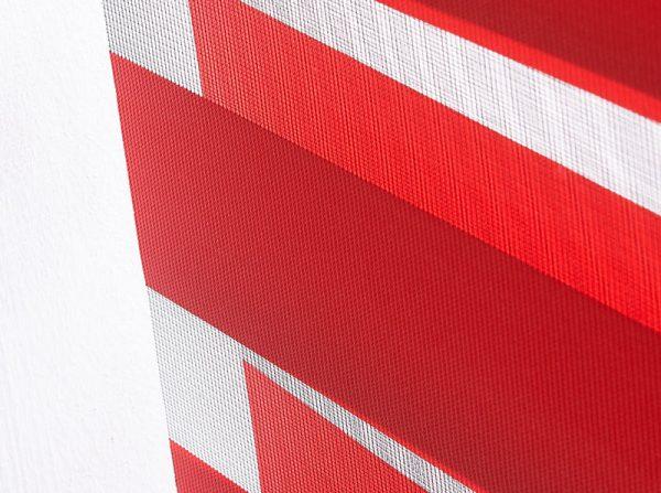 Luxdezine Window Blinds Combi Shades Interior Orange Zoom Details