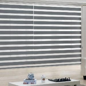 Luxdedzine Window Blinds Combi Shades Mirage Blackout