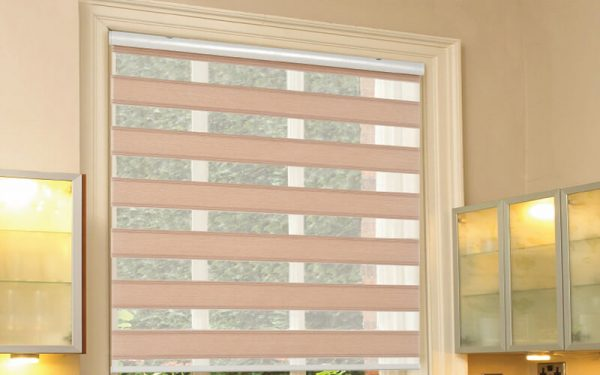 Luxdezine Window Blinds Combi Shades Open Grace
