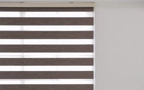 Luxdezine Window Blinds Combi Shades Tone Blackout