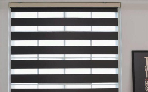 Luxdezine Window Blinds Combi Shades Wide Blackout
