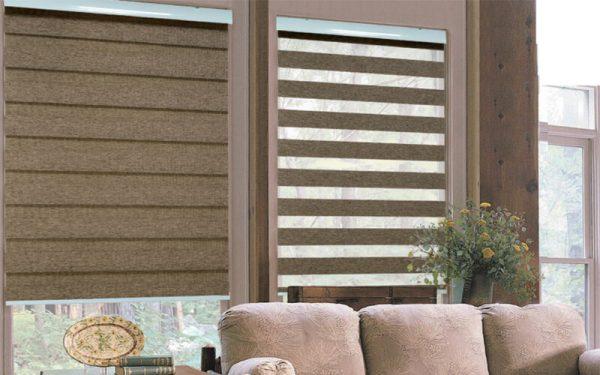 Luxdezine Window Blinds Combi Shades Woodlock Premier
