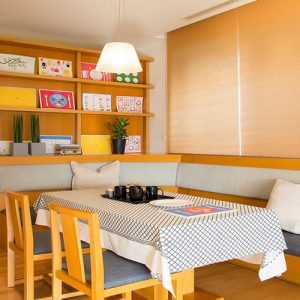 Luxdezine Window Blinds Honeycomb Blackout Nice Modern Interior