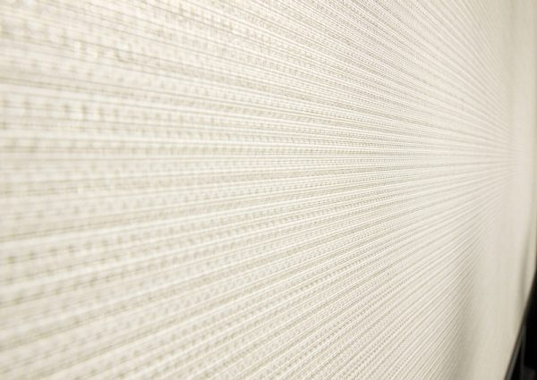 Luxdezine Window Blinds Roll Screen Shades Living Room White Zoom Texture