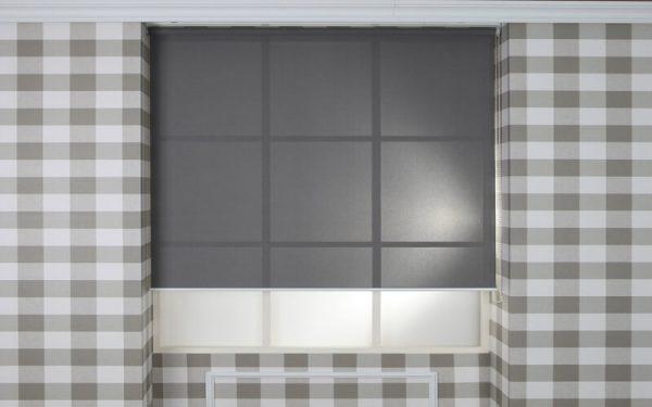 Luxdezine Window Blinds Roll Screen Sun Screen