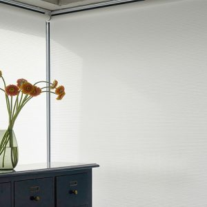 Luxdezine Window Blinds Roll Shades White Noblette Corner