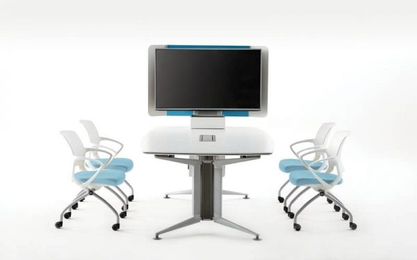 Luxdezine Conference Table Chairs With Television